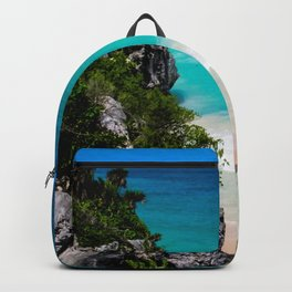 Beaches of Tulum Mexico Backpack