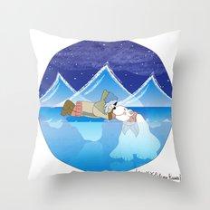 I {❤} XX Eskimo Kisses Throw Pillow