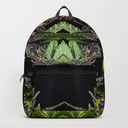 Purple Cannabis Plant Backpack