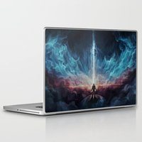 interstellar Laptop & iPad Skins featuring Interstellar by jasric