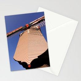1745 Windmill sundown geometrics Stationery Cards