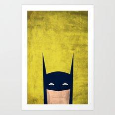 The Original Dark Knight Art Print