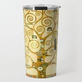 "Gustav Klimt ""Tree of life"" Travel Mug"