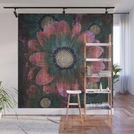 hippie flowers Wall Mural