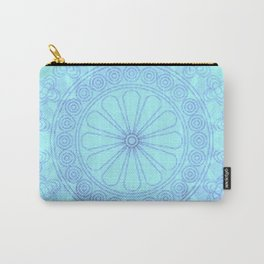 Mandala blue Carry-All Pouch