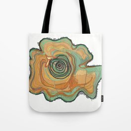 Tree Stump Series 3 - Illustration Tote Bag