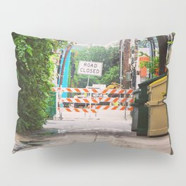 Road Closed Pillow Sham