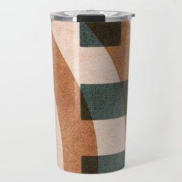 ABSTRACT ALPHABET / Decorative H Travel Mug