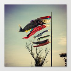 Fish Flags Canvas Print