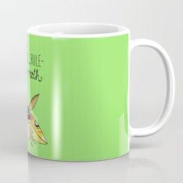 Leslie Knope Compliments: Rule-Breaking Moth Coffee Mug