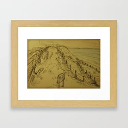 Beacons Sketch Framed Art Print