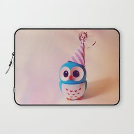 Owly BDay Party Laptop Sleeve