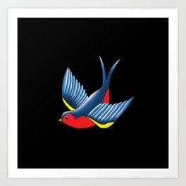 Swallow Art Print