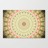 carnival Canvas Prints featuring Carnival by Jane Lacey Smith
