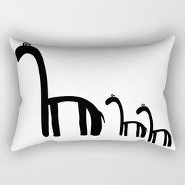Family of Giraffes Rectangular Pillow