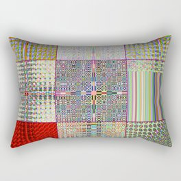 "Cos(Sin(j) × i ÷ k + Cos(i) × j ÷ n) × 0.7    [""TV""] Rectangular Pillow"