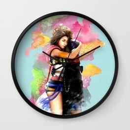YUNA & TIDUS - FFX Wall Clock
