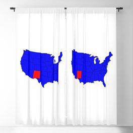 State of New Mexico Location Blackout Curtain