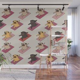 Pugs Warrior Wall Mural