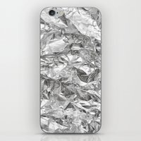 silver iPhone & iPod Skins featuring Silver by RK // DESIGN
