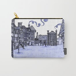 Victorian Frankwell Under Water, blue Carry-All Pouch