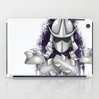 ninja turtle iPad Cases featuring Shredder -Teenage Mutant Ninja Turtle by Roe Mesquita