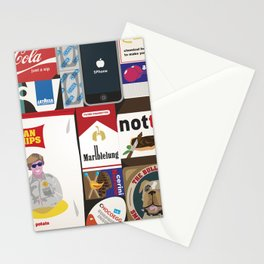 Consumption of goods Stationery Cards