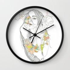 colour blind Wall Clock