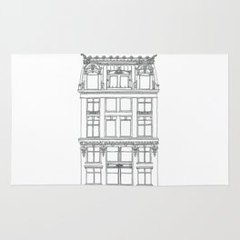 Don't Forget to Look Up by the Downtown Doodler Rug