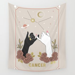 Cancer Zodiac Series Wall Tapestry