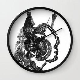 Balance Bat Wall Clock