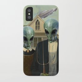 American Alien/Alien Gothic iPhone Case
