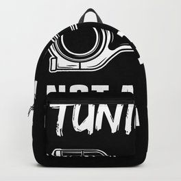 Tuning is not a Crime | Gift for Tuner Backpack