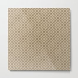 Gucci/GG Pattern Beige Metal Print