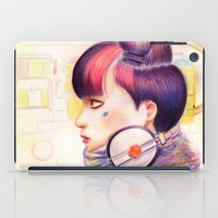dj iPad Cases featuring Sweet Dj by fawnfruits