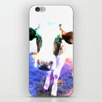 cow iPhone & iPod Skins featuring cow by Sarah Jane Connors