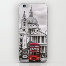 London Classic Bus iPhone Skin
