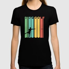 Vintage 1970's Style Disc Golf Graphic T-shirt