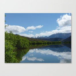 South Island Lake, New Zealand Canvas Print