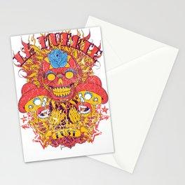 Dia de lor muertos Stationery Cards