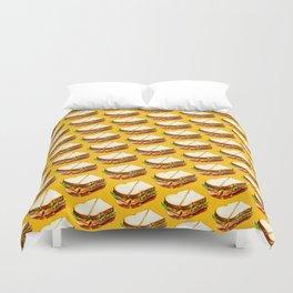 Ham Sandwich Pattern Duvet Cover