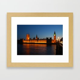 Big Ben and Palace of Westminster Framed Art Print