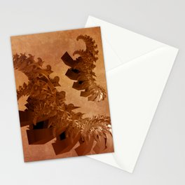 spiral forms on grungy texture -1- Stationery Cards