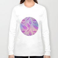 feather Long Sleeve T-shirts featuring Feather  by LebensART