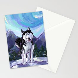 Animal Parade Husky Stationery Cards