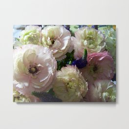 Annas Flowers I Metal Print
