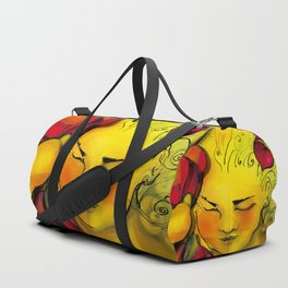 """The first sun, the first kiss"" Duffle Bag"