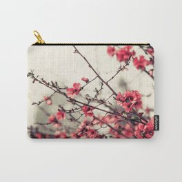 Printemps Rose Carry-All Pouch