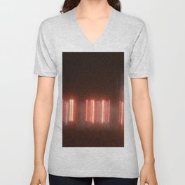 Abstracte Light Art in the Dark 10 Unisex V-Neck