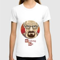 walter white T-shirts featuring Walter White  by gunberk